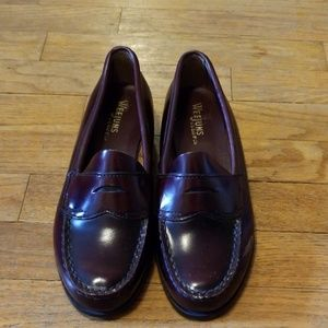 G.H. Bass & Co Logan flat strap Weejuns loafers